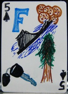 Frances' 5 of Spades