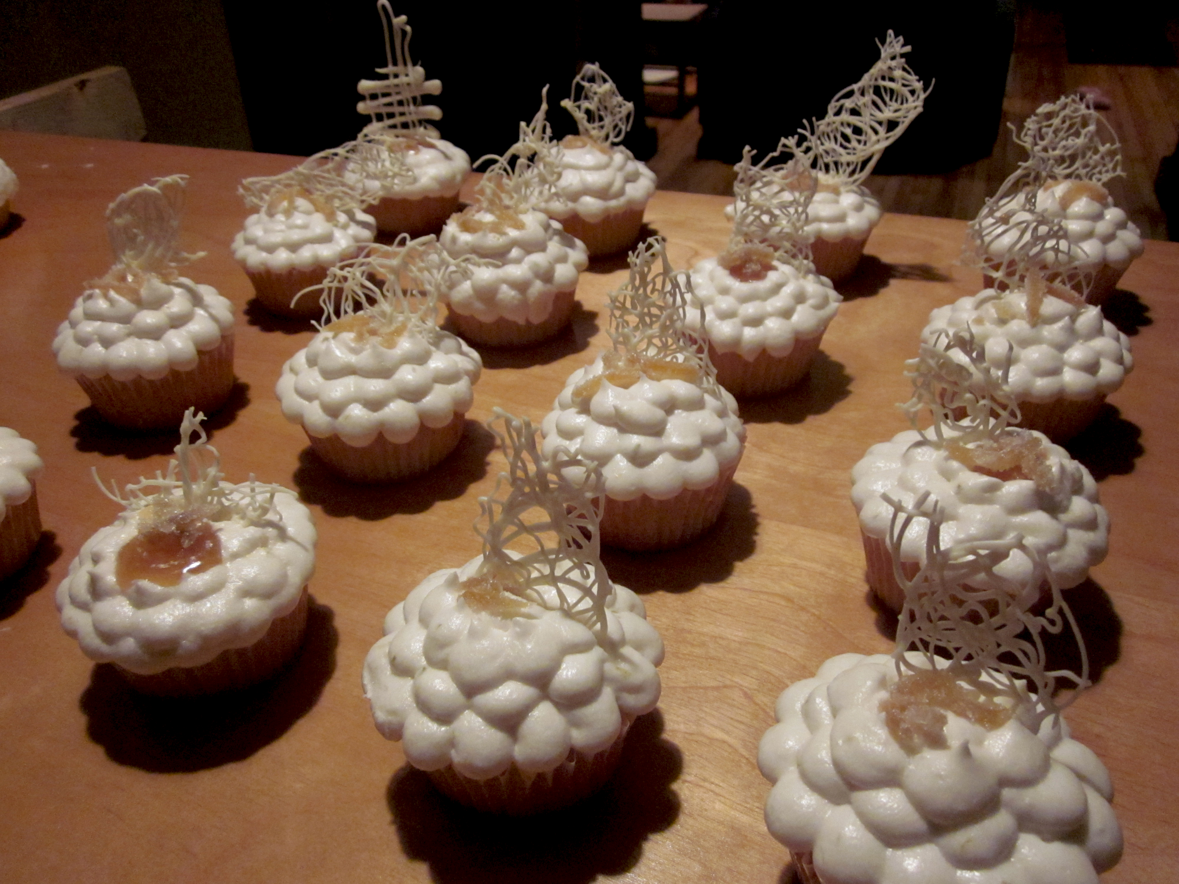 Progetto: Francesca a Firenze! Ginger Cupcakes