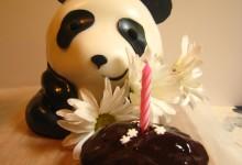 A Panda Cake for Alvin