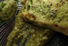 Lemon Herb Turkey & Green Olive Sauce
