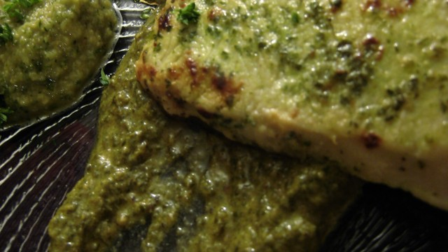 Lemon Herb Turkey & Green Olive Sauce